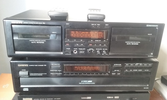 Toca Cd Onkyo Modelo Dx - C320 6 Cds