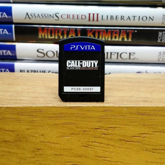 Call Of Duty Black Ops (sem Caixinha) Ps Vita
