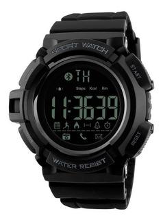 Reloj Inteligente Hombre Skmei 1245 Smartwatch Bluetooth Cuenta Pasos Distancia Calorías Compatible Android & Ios Gtia