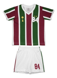 Kit Infantil Retrômania Fluminense 1984