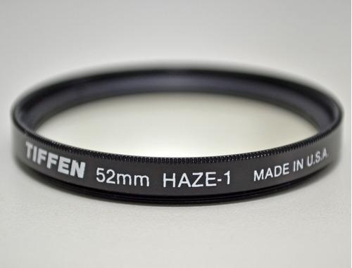 Filtro Tiffen Haze-1 52mm (made In U.s.a.)