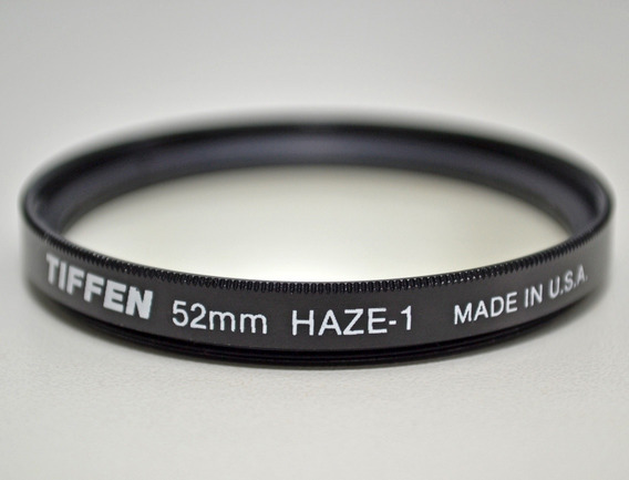 Filtro Tiffen Haze-1 52mm (made In U.s.a.)