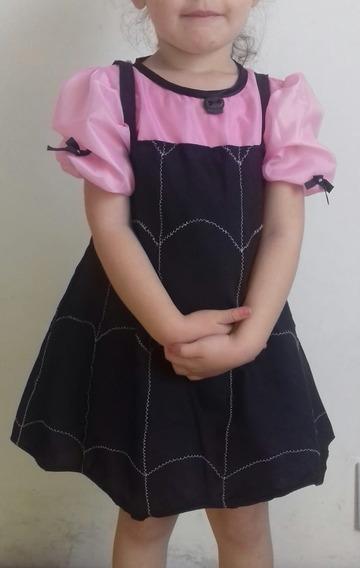 Disfraz Vampirina Niña Bebe Vestido