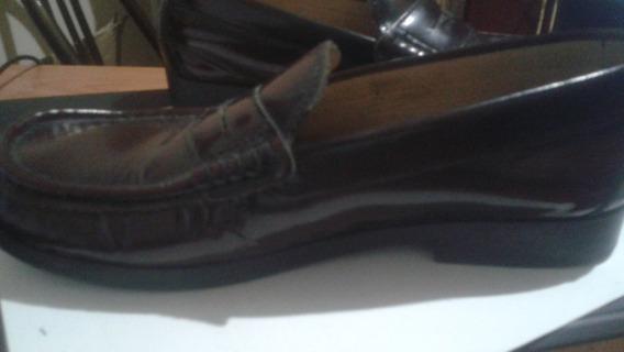 Zapato Pocholin Nº 34 Patente Tipo Mocasin Sebago