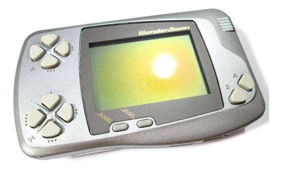 Wonderswan Modelo Silver Melallic Original Bandai