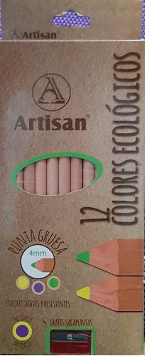 Artisan Colores Ecologicos Lapices Unidad A 562 Mercado Libre