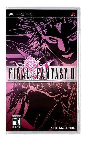 Final Fantasy Ii Psp Mídia Física Pronta Entrega