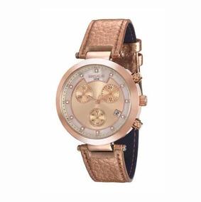 Relógio Séculus Cronográfo Feminino 20450lpsvrr5 Rosé