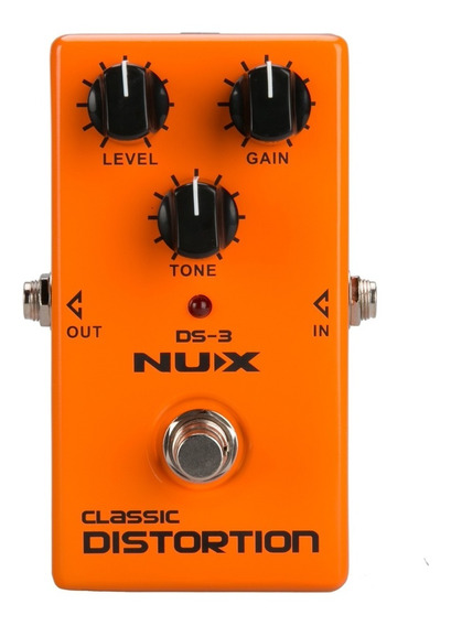 Pedal Nux Ds3 - Classic Distortion (pronta Entrega)