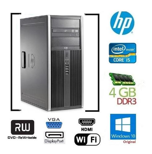 Cpu Hp Elite 8100 I5 650 Ram 4gb Hd 500gb * Entrega Grats Sp