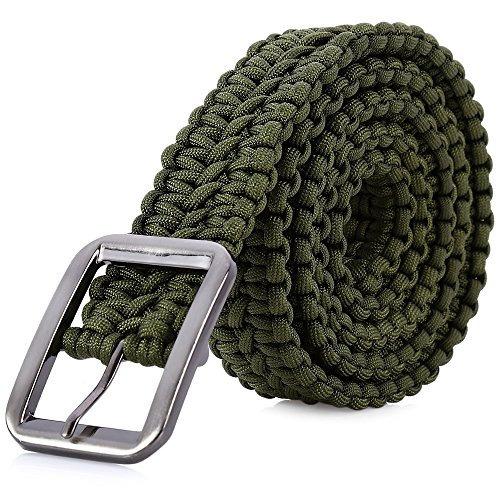 Elegante Cinturón Táctico De Supervivencia Para Camping Caza