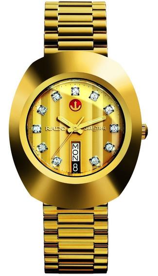 Reloj Rado The Original Automático R12413493 Acero Dorado