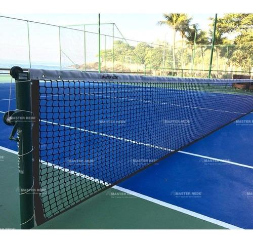 Rede De Tênis Master Rede Oficial Saque Duplo Total 4 Mm