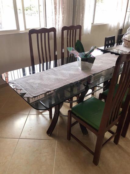 Mesa De Jantar C/ 4 Cadeiras