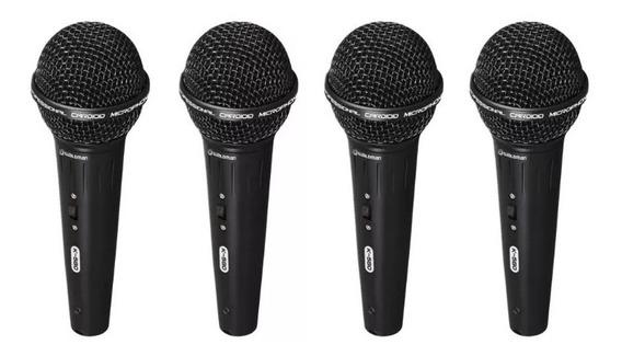 Kit 4 Microfone Waldman K580 Cachimbo + Estojo!