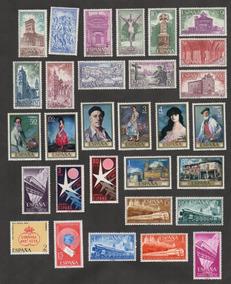 Grc02 - Selos Espanha Linda Coleção Mint Com Goma