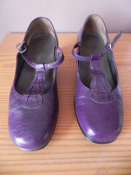Zapatos Zapatillas Onena Moradas/violeta Oscuro Número 26