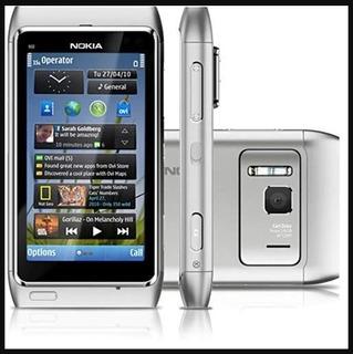 Nokia N8 Prata Com Câmera 12mp, Bluetooth, Touchscreen, Hdmi