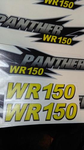 Panther Wr150 Kit De Calcos