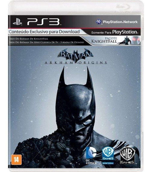 Batman - Arkham Origins Ps3 Semi-novo