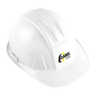 Casco Cabel De Protección Blanco