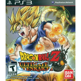 Dragon Ball Z: Ultimate Tenkaichi ps3 Mídia Física