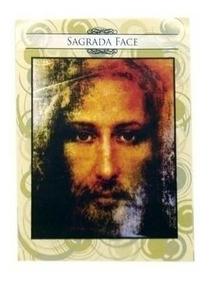 100 Folhetos Santinho Oração Sagrada Face