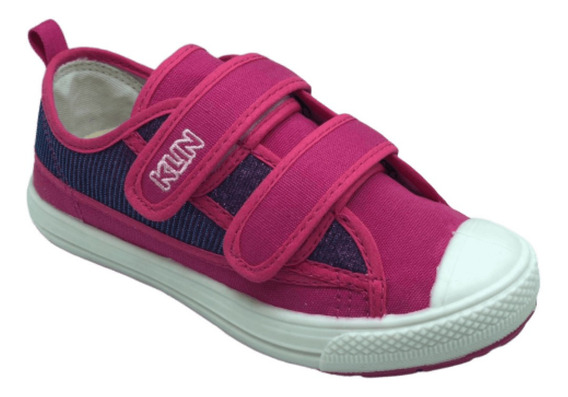 Tenis Infantil Feminino Klin Replay 471068 Velcro Anatomico