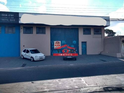 Imagem 1 de 4 de Barracão Para Alugar, 570 M² Por R$ 6.000,00/mês - Vila Falcão - Bauru/sp - Ba0299
