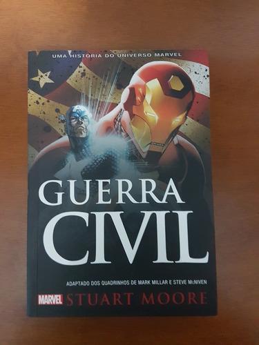 Livro Guerra Civil - Marvel