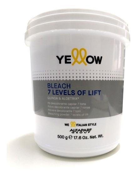 Polvo Decolorante Yellow Alfaparf Aclara 7 Tonos Blondor