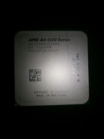 Processador Amd A4-3300 2.5ghz Com Amd Radeon Hd 6410d