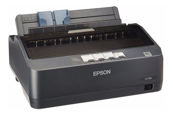 Nova Impressora Matricial Epson Lx350 Edg Original 110v