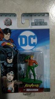 Nano Figura De Metal Aquaman Dc Comics Zona Retro Juguetería