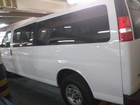 Chevrolet Express 15 Pasajeros Crédito O Arrendamiento