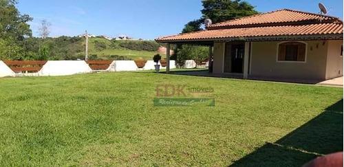 Imagem 1 de 22 de Chácara Com 2 Dormitórios À Venda, 4000 M² Por R$ 950.000,00 - Jardim Torrão De Ouro - São José Dos Campos/sp - Ch0342