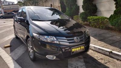 Honda City Ex 1.5 16v Flex Aut. Completo Preto 2010