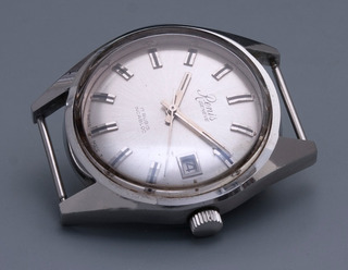 Reloj Renis A Cuerda Calendario Segundero Central