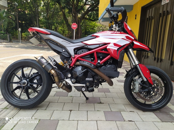 Ducati Hypermotard 821 Salvamento
