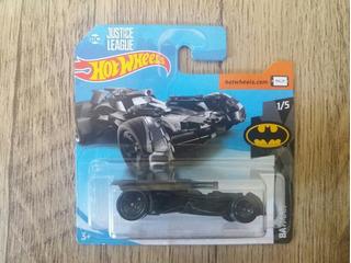 Hot Wheels Batmóvel (preto) [lacrado] - Liga Da Justiça
