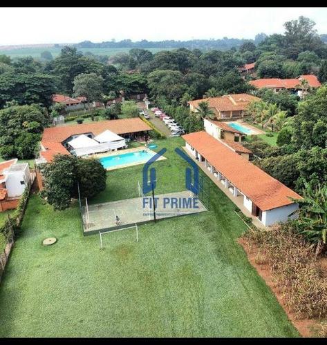 Chácara Com 6 Dormitórios À Venda, 5792 M² Por R$ 1.450.000,00 - Residencial Santa Mônica - Araras/sp - Ch0158