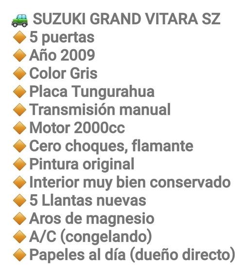 Suzuki Grand Vitara Xz