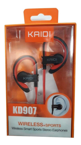 Fone Ouvido Kaidi Kd907 Wireless Sports 4.2 Bluetooth Stereo