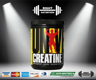 Creatina Universal 500 Gr. - Reg Sanitario - Right Nutrition