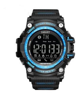 Smartwatch Digital Com Bluetooth Sport Gimto Militar Shock