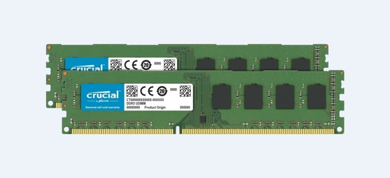 Memoria Crucial 8gb Kit (4gbx2) Ddr3l 1600 Mt/s (pc3l-12800)