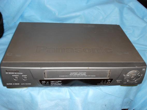 Video Cassete K7 Panasonic Mod Nv-sd435 Sucata
