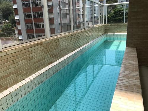 Apartamento À Venda, 51 M² Por R$ 335.000,00 - José Menino - Santos/sp - Ap5348
