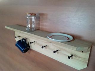 Repisa Rustica Cipres Patagonico