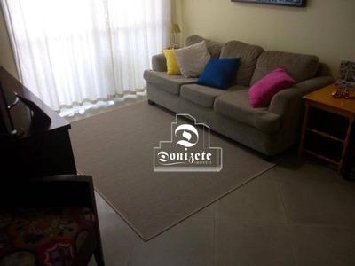 Apartamento Com 3 Dormitórios À Venda, 93 M² Por R$ 640.000 - Vila Assunção - Santo André/sp - Ap10346